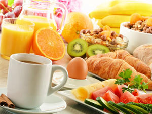 Wellness - Frühstück